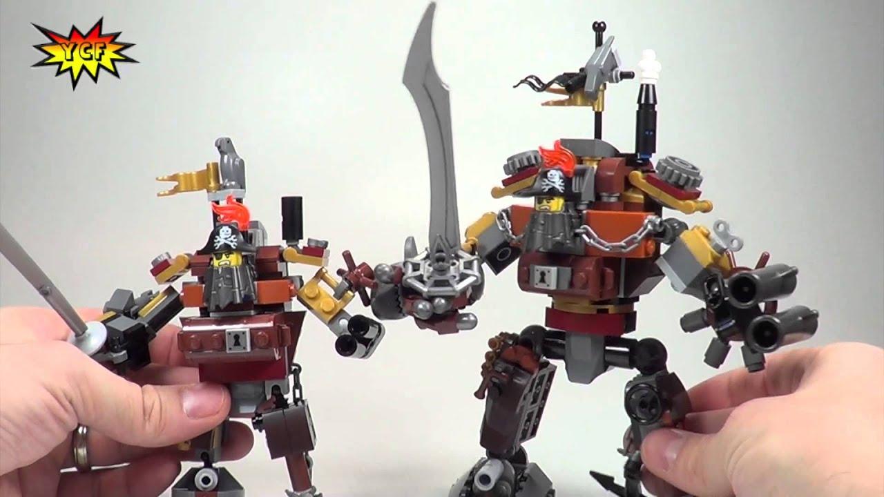 LEGO Movie MetalBeard Comparison! MetalBeard's Duel vs ...