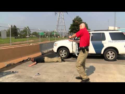 U.S. Customs and Border Protection Officers Use of Force Practice Scenario