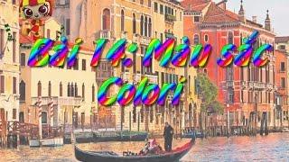 Học tiếng Ý - Bài 14: Màu sắc - Hoc tieng Y ✫✫✫✫✫