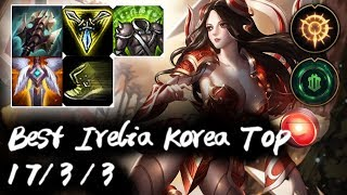 Best Irelia Korea Top vs Jayce | Korea High Elo Replays
