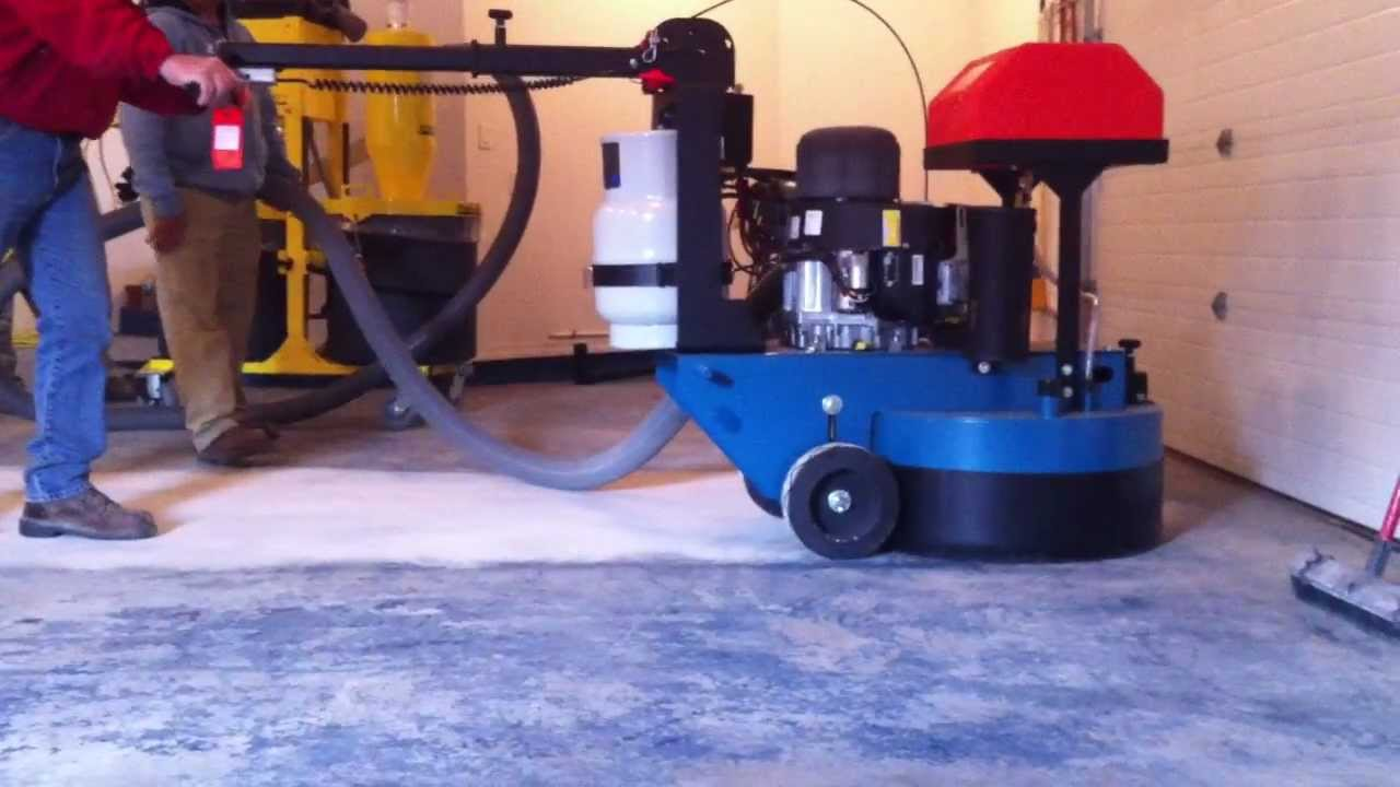 Eagle Lx 30 Planetary Floor Grinder Polisher Youtube