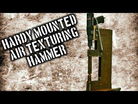 Hardy Mounted Air Texturing Hammer [Mini Power Hammer]