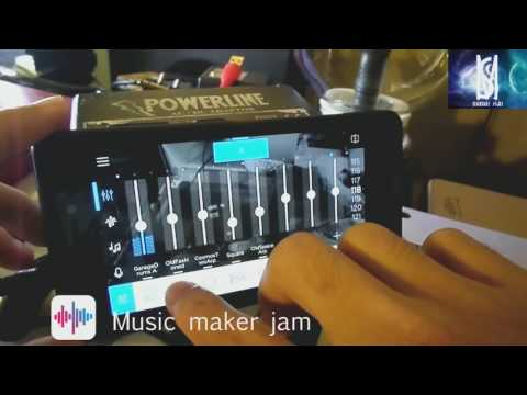 MUSIC MAKER JAM ANDROID  - LENOVO VIBEX2 - REVIEW BY MAMAT SKILL (EDM)