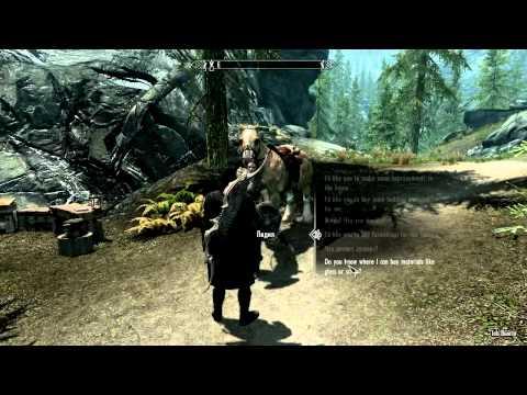 Skyrim: Hearthfire - Как Нанять Стюарта? / How To Get а Stewart?