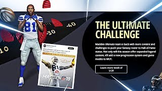 OUR FIRST LOOK AT MADDEN 19 ULTIMATE TEAM! NEW LEGENDS AND A NEW GAME MODE!