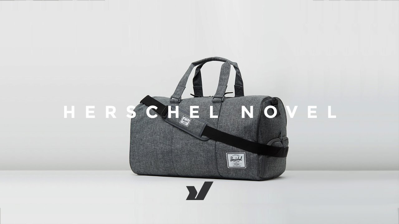6351b56feb The Herschel Novel Duffle Bag - YouTube