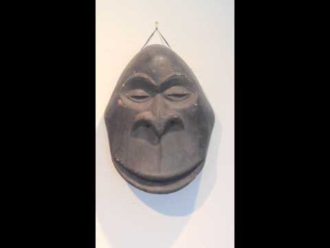 African Gorilla Mask from the Hemba tribe, DRCongo