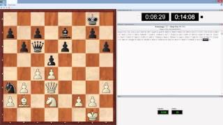 Быстрые шахматы с компьютером в живую 15м+10с партия 3(Играю рапид (быстрые шахматы) с компьютером оболочка Deep Fritz 14 движок Houdini 4 с дальнейшим анализом партий...., 2015-01-24T12:29:33.000Z)