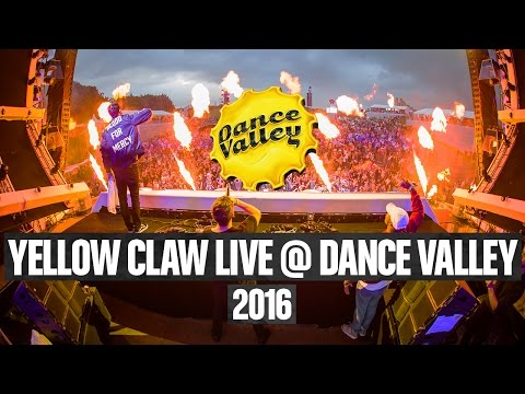 Yellow CLaw Full Liveset - Dance Valley 2016 4k
