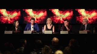 Mockingjay Part 2 Los Angeles Press Conference