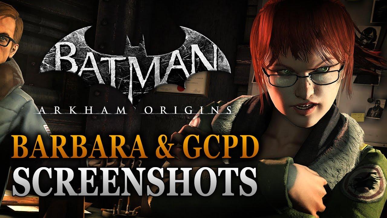 batman arkham origins new screenshots barbara gordon