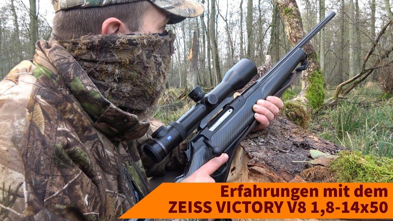 Zeiss victory v8 1 8 14x50 in der jagdpraxis: erfahrungen mit dem