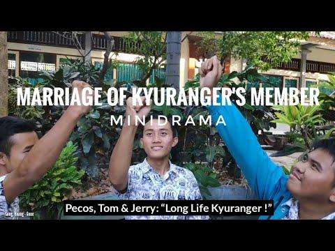 MINIDRAMA: MARRIAGE OF KYURANGER'S MEMBER  (Inc BEHIND THE SCENE) PARODY - MD By:David, Dhiyo, Satya