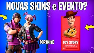 FORTNITE-NEW SKINS, ITEMS and EVENT TOY STORY? -Patch 9.20