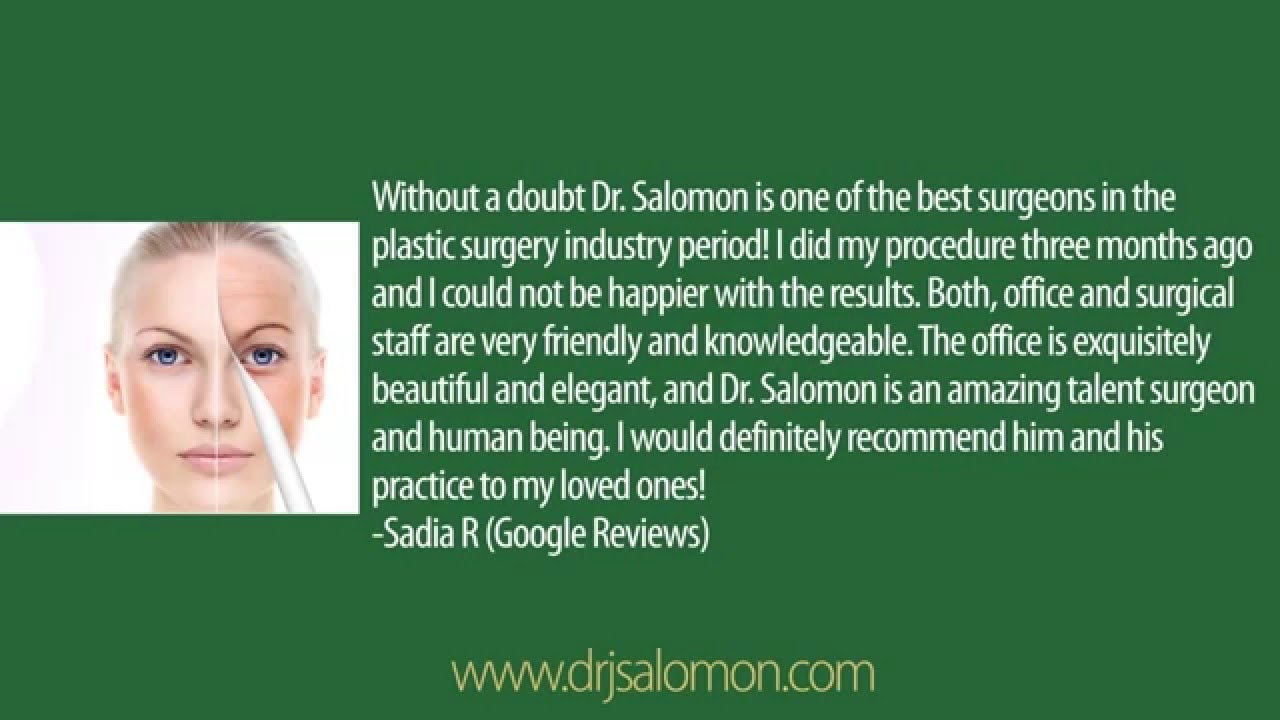 most popular nice cheap first look Dr. Jhonny Salomon - Miami, Plastic Surgeon, FL - YouTube