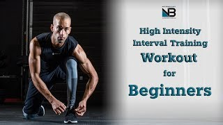 High intensity interval training workout for beginners. no equipment? not sure what workouts are good you but want to sweat? how about a intensi...