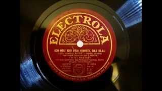 Fritzi Massary - Ich hol Dir vom Himmel das Blau - Die Lustige Witwe - 1929
