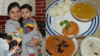 Vlog: Saturday Special Dinner   Cooking South Indian Dinner with Recipe   Real Homemaking