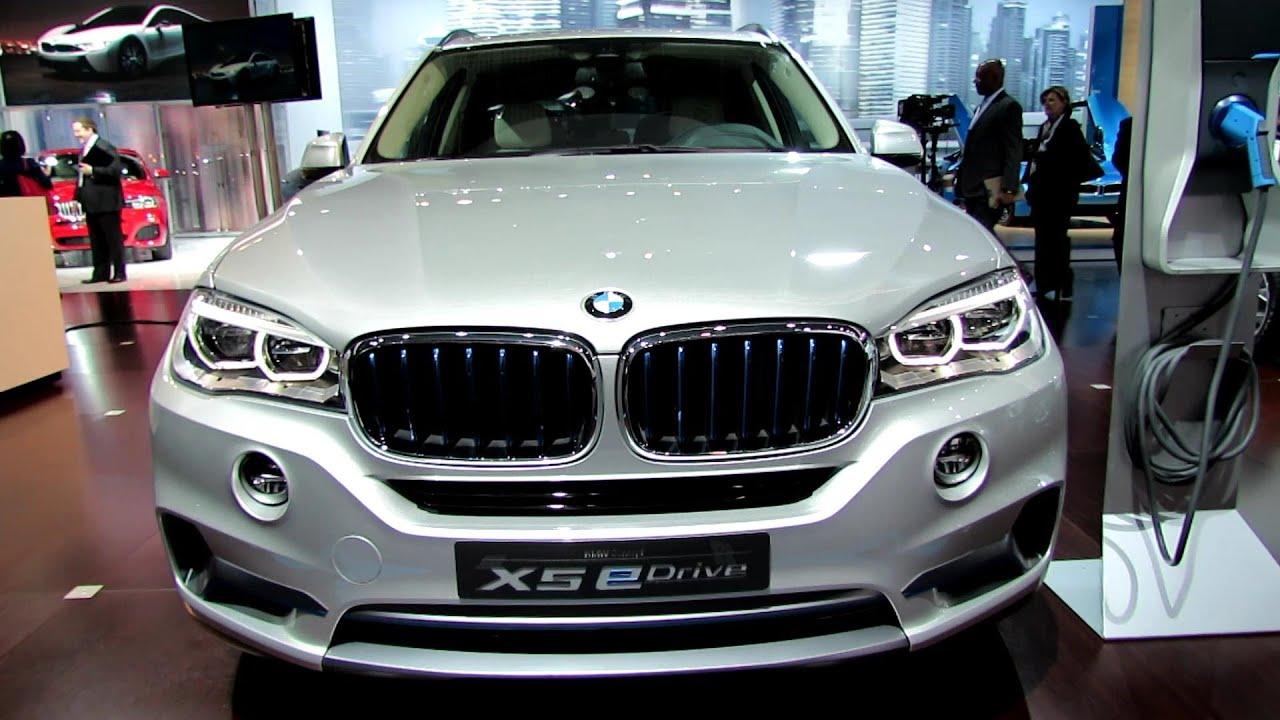 2015 Bmw X5 Edrive Concept Exterior And Interior