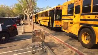 Santa Rosa Fires: Safeway parking lot at Calistoga Road