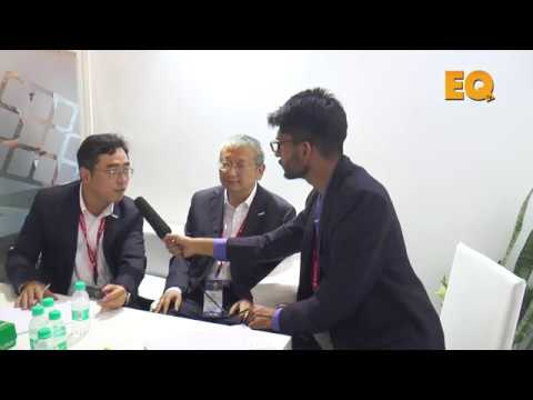 Mr. Zhenguo Lee, President, LONGi Green Energy in conversation with EQ Mag '17