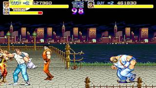 【TAS】Final Fight by Dark Noob & CReTiNo in 14:48