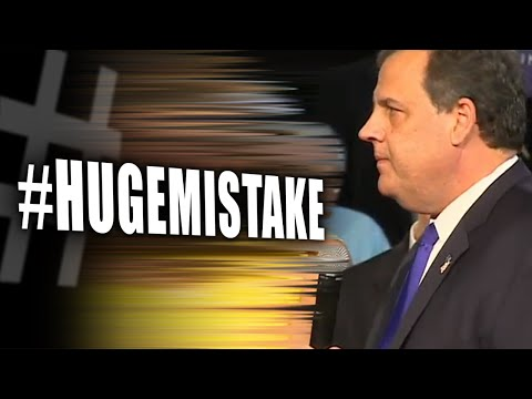 Chris Christie Campaign Slogan Immediately Backfires