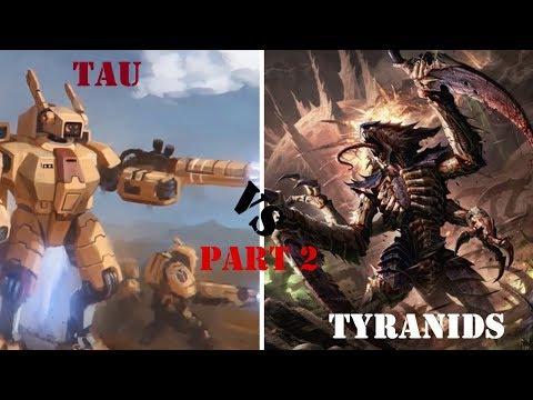 Dawn of War Ultimate Apocalypse Mod: Tau Empire VS Tyranid Swarm Part 2