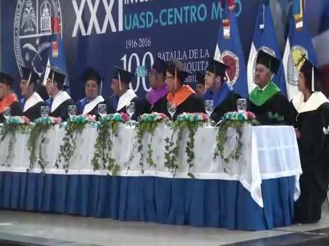 UASD-Centro Mao entrega 160 nuevos profesionales