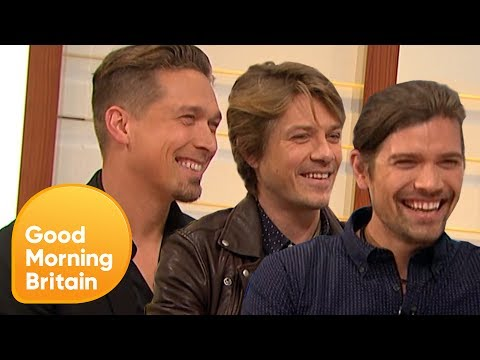 90s Icons Hanson Talks About Their New Song and the Legacy of 'Mmmbop'   Good Morning Britain