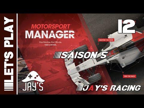 [FR] Motorsport Manager - Jay's Racing - Saison 05 - GP Phoenix - Épisode 12