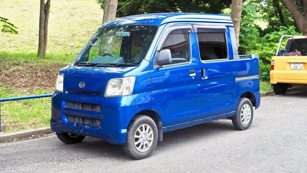 2006 Daihatsu Hijet Deck Van (UK Import) Japan Auction