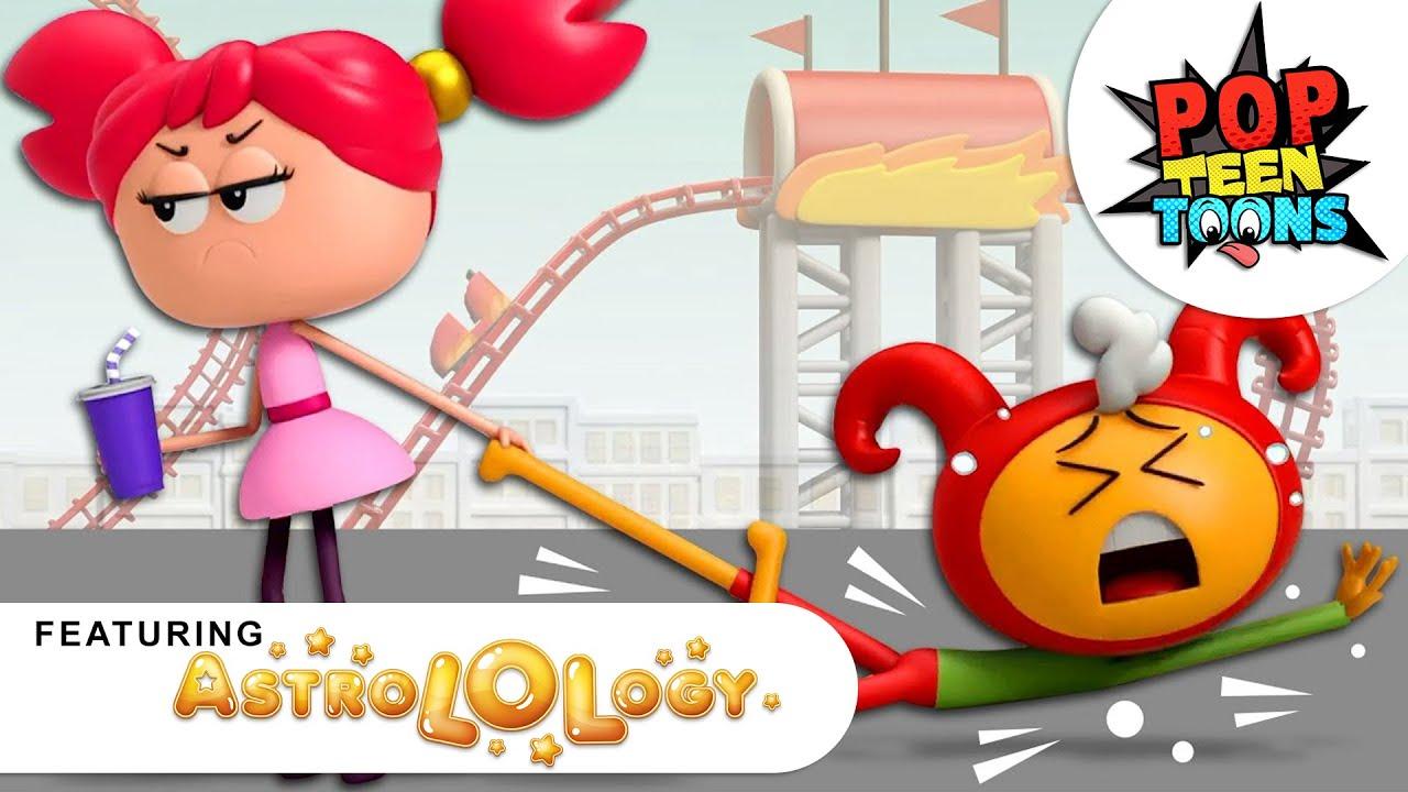 EMO Boyfriend | AstroLOLogy Cartoon | Funny Cartoons for Kids | Pop Teen Toons