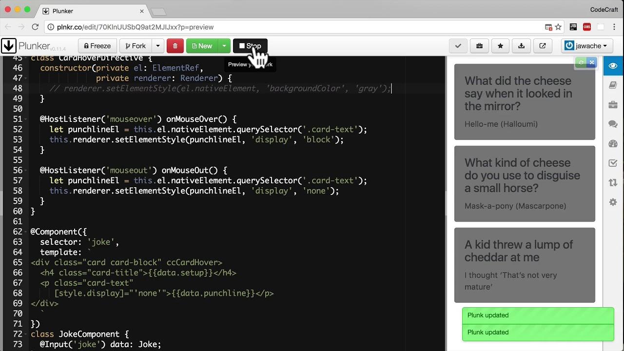 HostListener & HostBinding • Angular