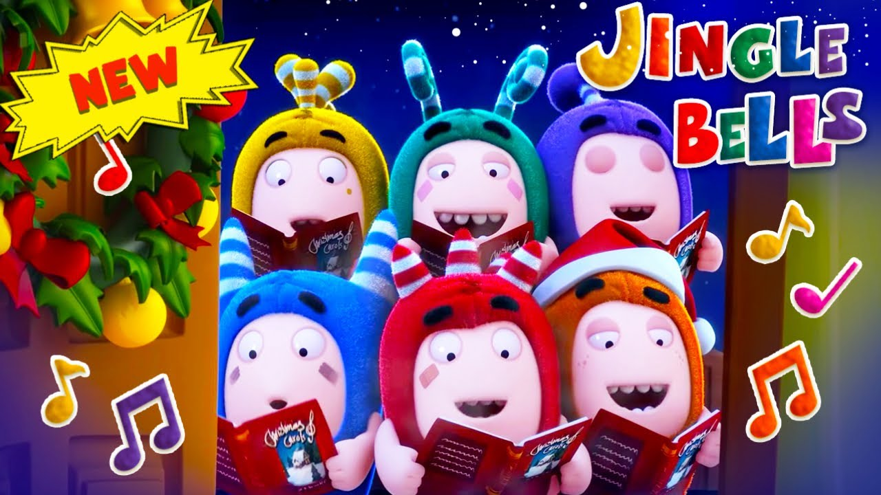 Oddbods | CHRISTMAS 2019 | The Christmas Song | Funny Cartoons For Kids