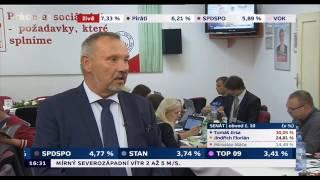 Rozhovor s Pavlem Kováčikem k výsledkům voleb do krajských zastupitelstev a Senátu