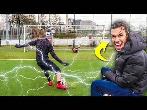 ELEKTROSCHOCKER FUßBALL CHALLENGE TEIL 2 !!!