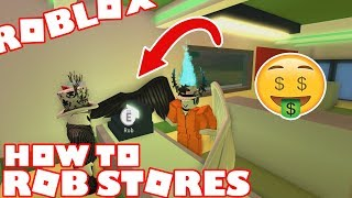 ROBLOX - Jailbreak: How to Rob the Store (Gas Station)