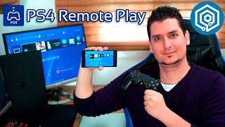 Mi experiencia jugando con PS4 Remote Play y el Xperia XZ!