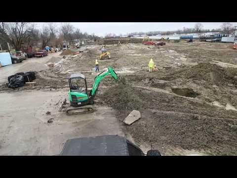 St. Vincent Neighborhood Hospital Construction Timelapse - Avon