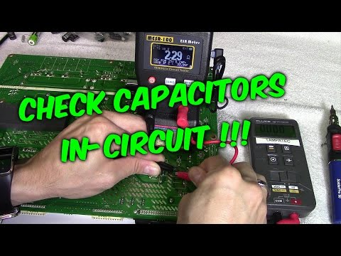 3 Ways to Check Capacitors in Circuit with Meters & Testers