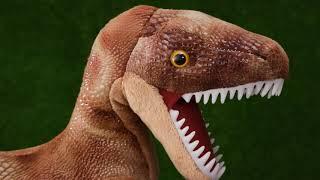 Wild Republic 30 Velociraptor Plush Toy Dinosaur Stuffed Animal