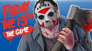 Friday The 13th Beta - JASON IS HERE!!!!! (My own tombstone in-game!)