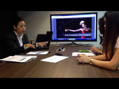 Interview Siam Kempinski Hotel Bangkok - HR dept. by spongiALLEFY