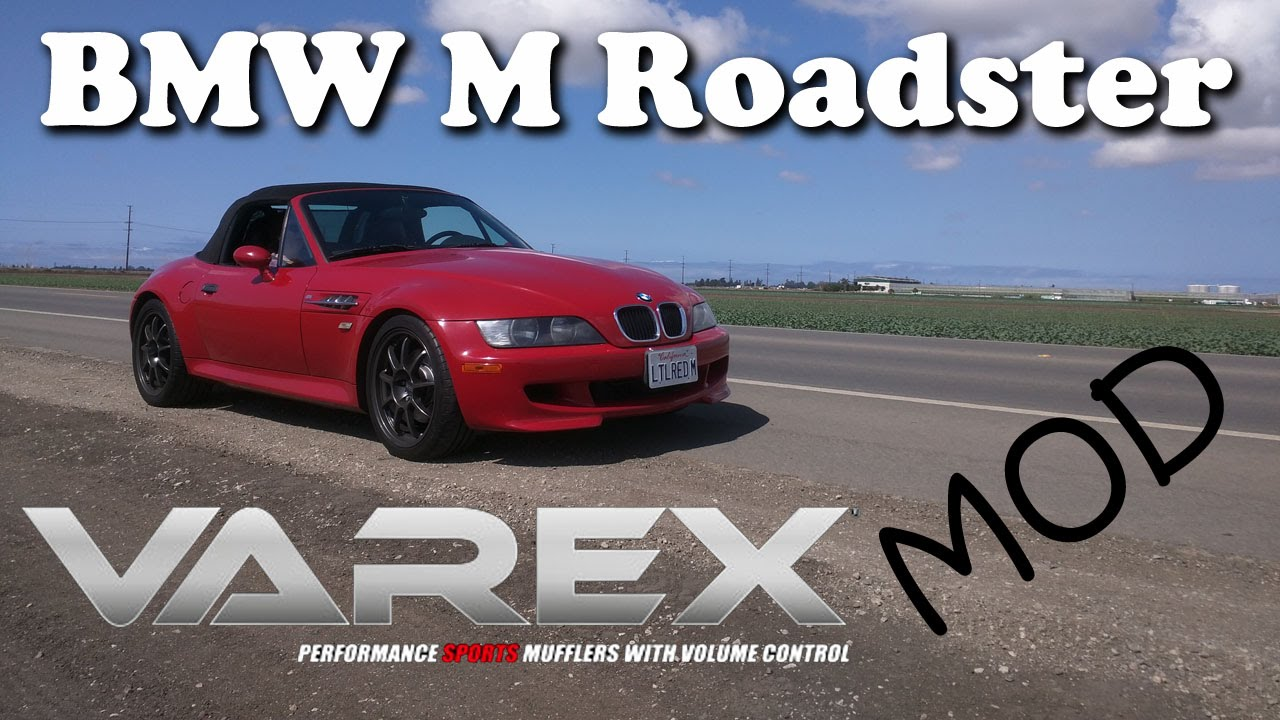 1999 BMW Z3 M Roadster with Varex Mufflers - YouTube