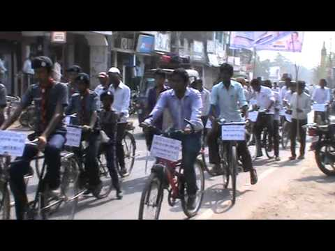 Voter Awarness Motor Cycle Rally midst of City 5th June 2015