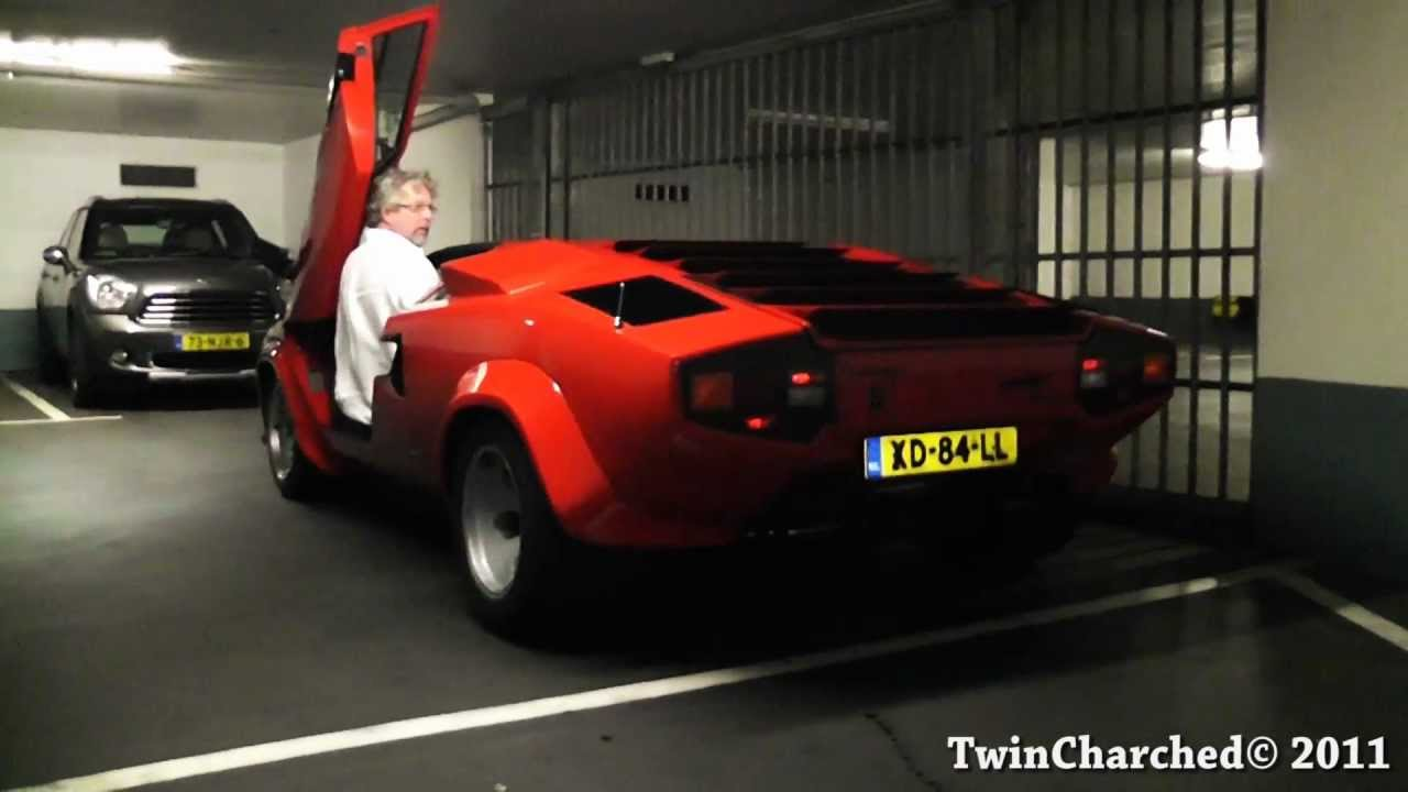 1 Dollar - Elizabeth II (Lamborghini Countach) - Tuvalu ...  |Lamborghini Countach Reverse