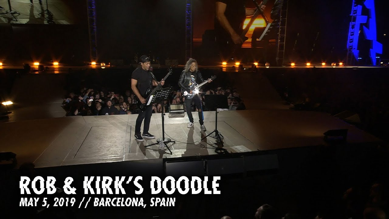 Metallica: Rob & Kirk's Doodle (Barcelona, Spain - May 5, 2019)