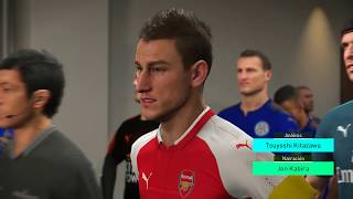 Pro Evolution Soccer 2018 Gameplay Arsenal vs Leicester CIty - Premier League