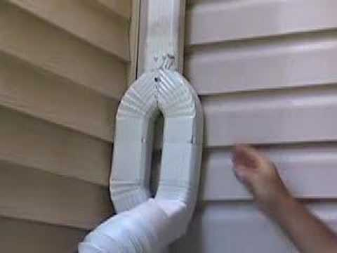 Rain Barrel Downspout Diverter Youtube